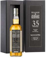 Girvan Single Grain 35 years  Wilson & Morgan Scotch Single Malt Whisky <br />