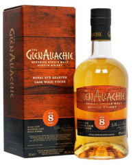 GlenAllachie 8 years Ltd. Koval Rye Quarter Cask Wood finish