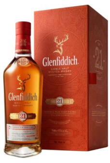 Glenfiddich 21 years Rum Cask finish Scotch Single Malt Whisky