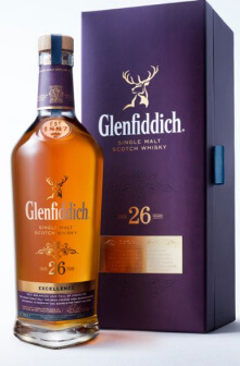 Glenfiddich 26 years Excellence Scotch Single Malt Whisky