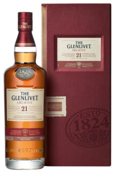 Glenlivet 21 years Archive Scotch Single Malt Whisky
