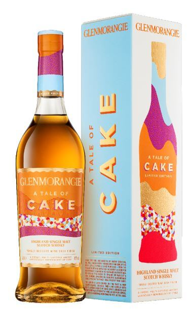 Glenmorangie A Tale of Cake Limited edition Scotch Single Malt Whisky