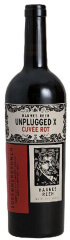 X - Cuvée rot Unplugged (6 x 75cl) <br />in Original Hannes Reeh 6er Holzkiste